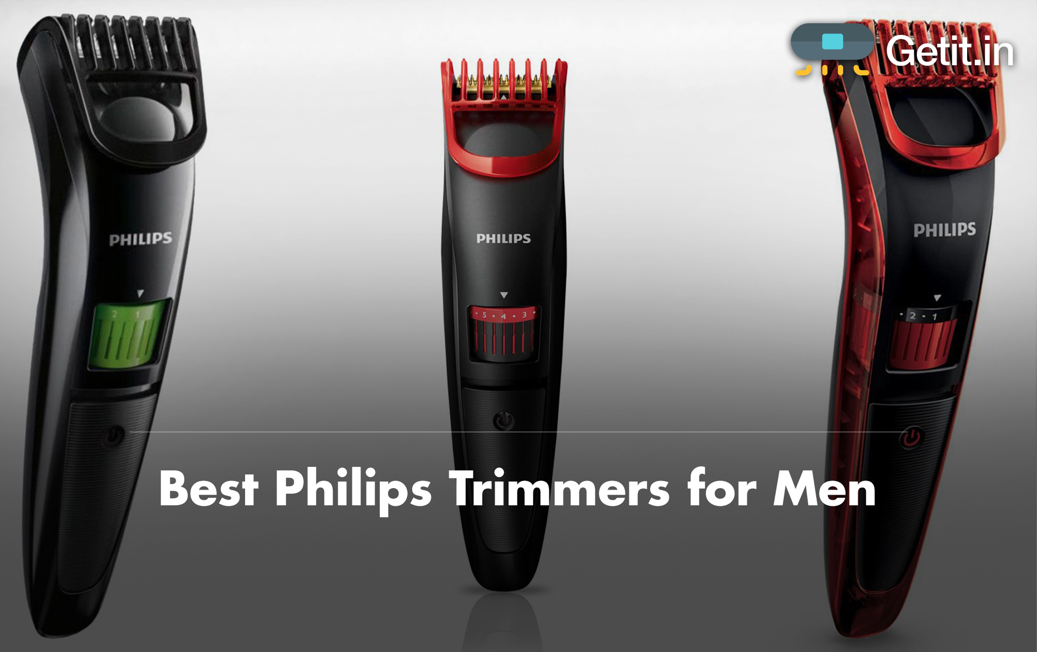 Best Philips Trimmers for Men