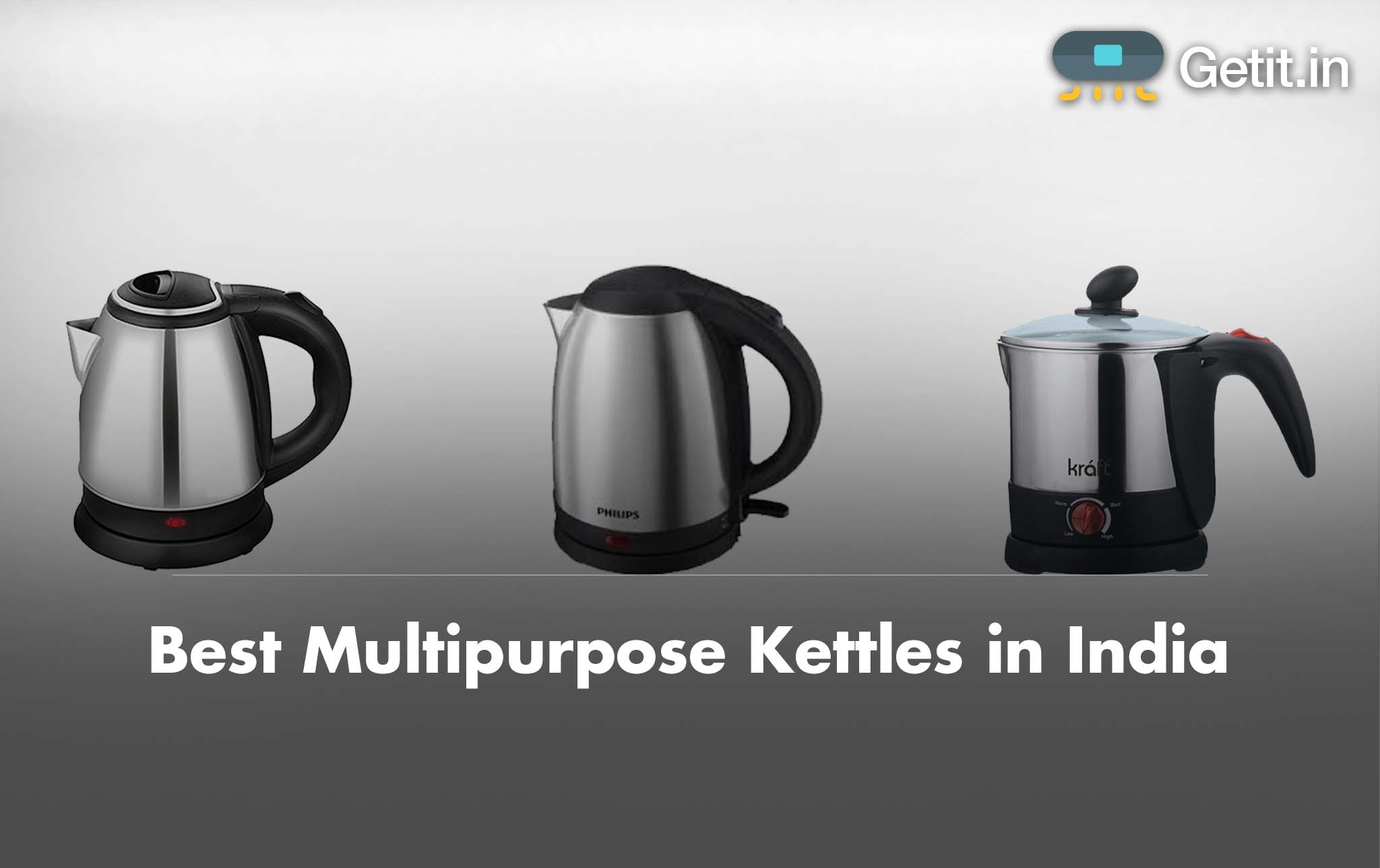 Best Multipurpose Kettles in India