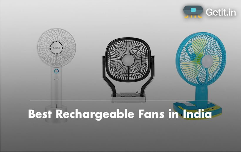 best rechargeable fan in india