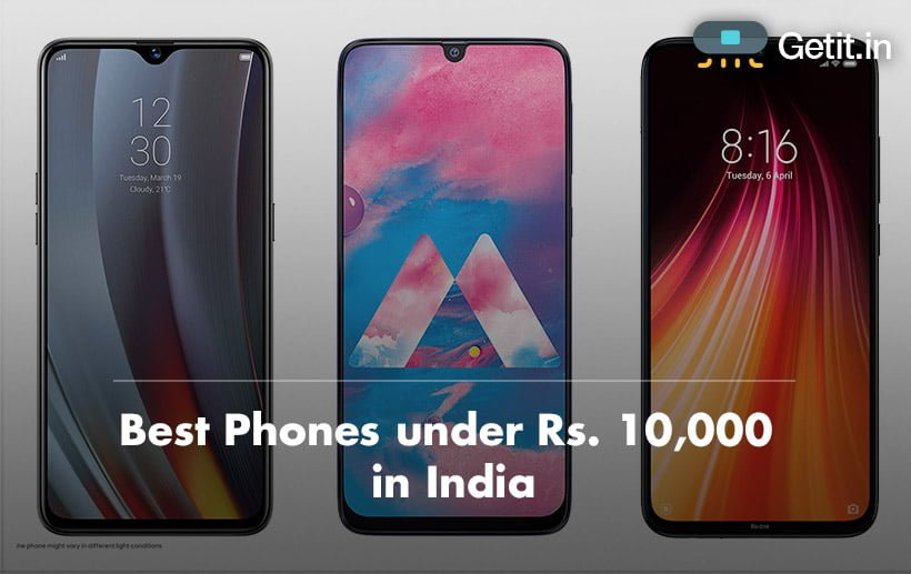 Best Phones under Rs. 10,000 in India
