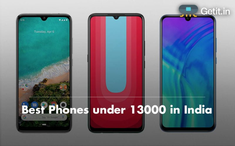 Best Phones under 13000 in India