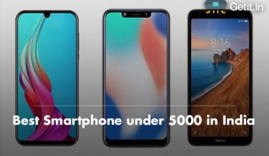 Best Smartphone under 5000 in India